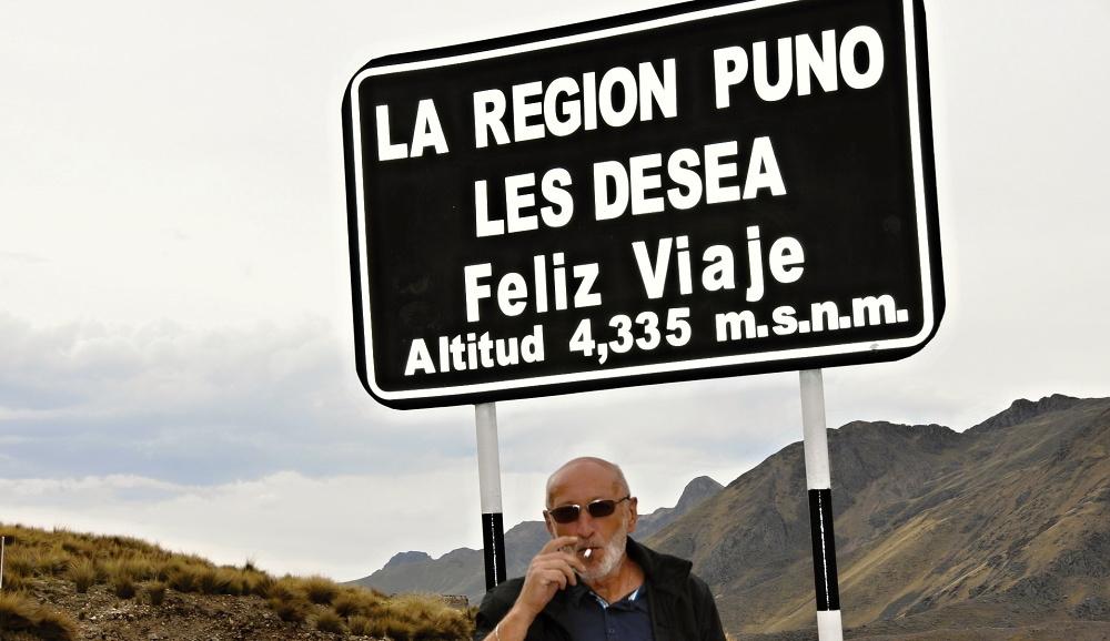 Jihovýchodní Peru - provincie Puno